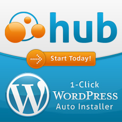 WebHostingHub 1 Click WordPress Installer