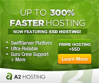 A2 Hosting SSD Fast Hosting