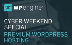 WP Engine Cyber Weekend Sale